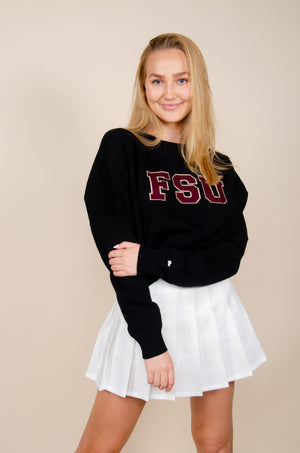 Load image into Gallery viewer, FSU Ivy Intarsia Sweater