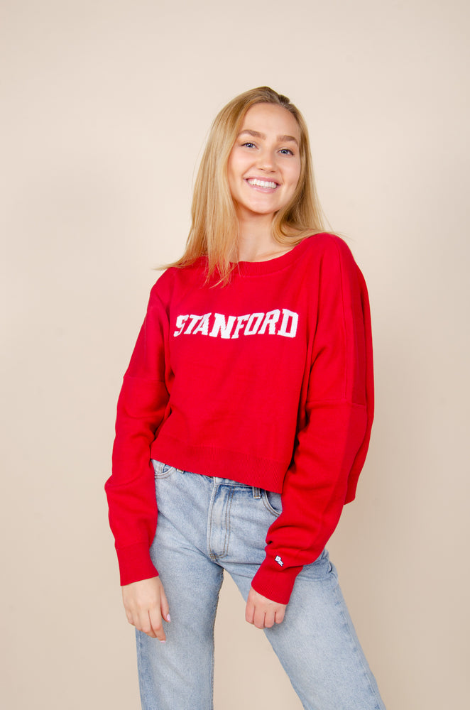 Stanford Ivy Intarsia Sweater