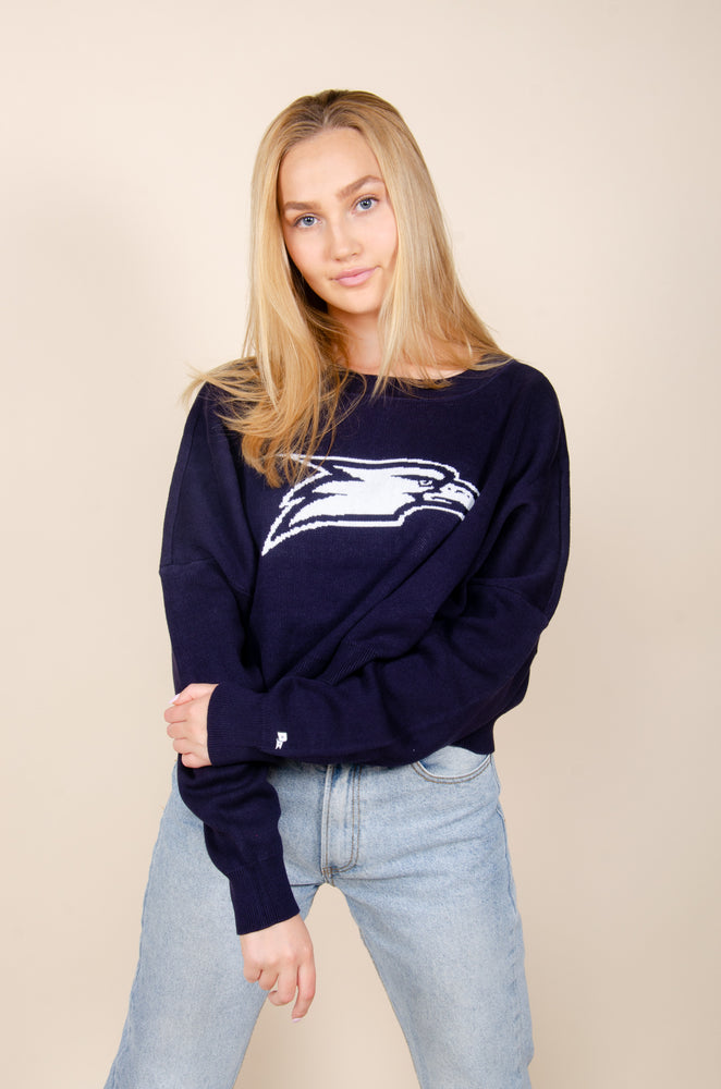 Load image into Gallery viewer, Georgia Southern Ivy Intarsia Sweater