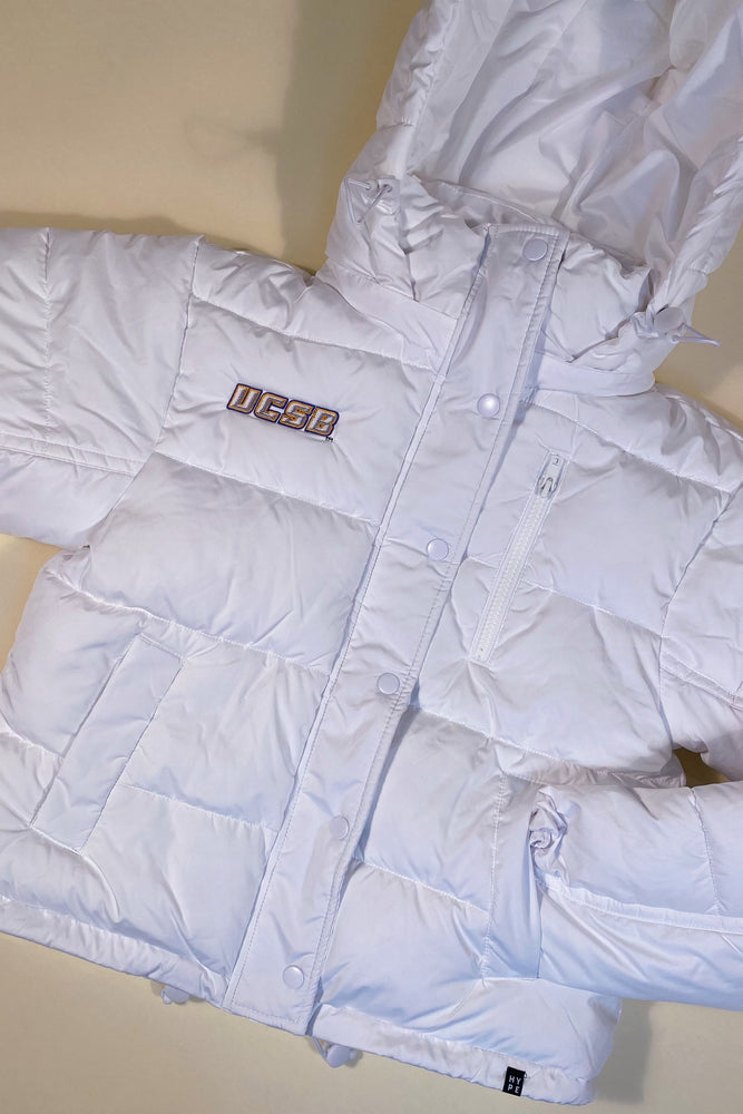 Load image into Gallery viewer, UCSB Puffer Jacket