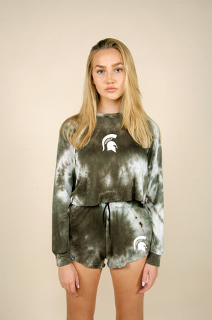 MTO Michigan State Tie Dye Dreams Top