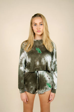 Load image into Gallery viewer, MTO UNT Tie Dye Dreams Shorts