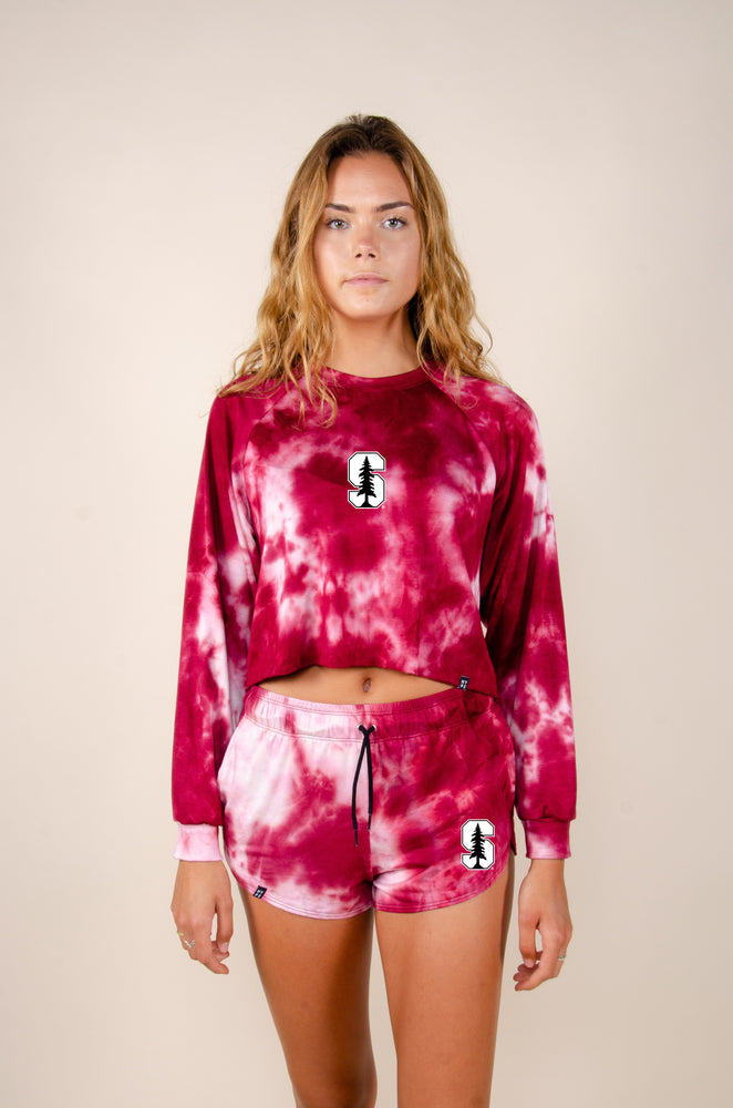Load image into Gallery viewer, MTO Stanford Tie Dye Dreams Shorts