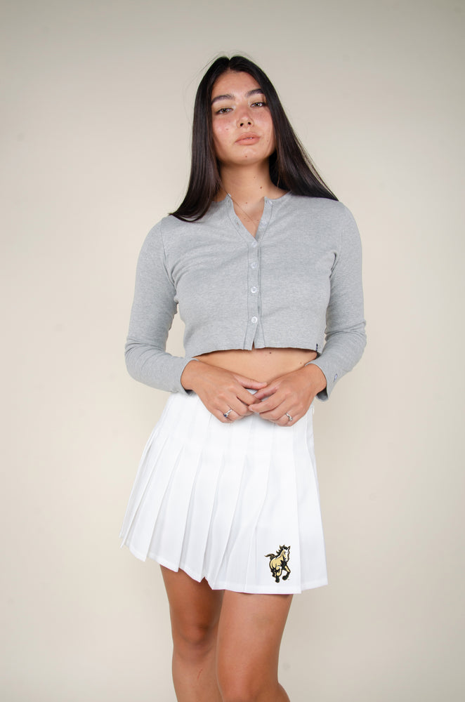 Load image into Gallery viewer, MTO Cal Poly Tennis Skirt