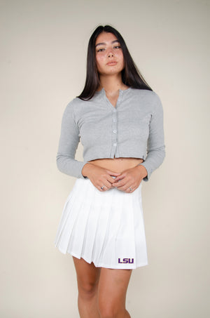 Load image into Gallery viewer, MTO LSU Tennis Skirt