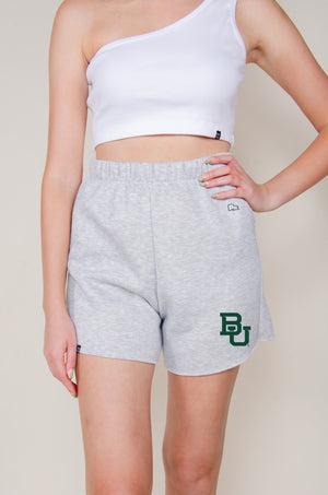 Load image into Gallery viewer, MTO Baylor Cut Off Sweatshorts