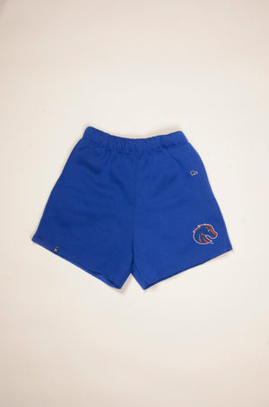Load image into Gallery viewer, MTO Boise State Cut Off Sweatshorts