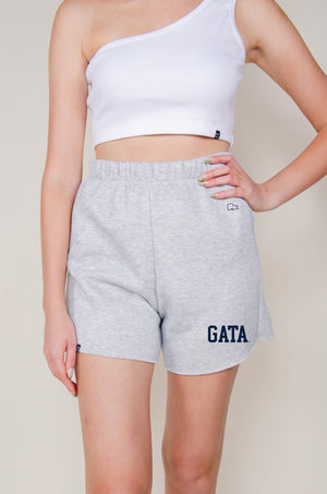 Load image into Gallery viewer, MTO Georgia Southern Cut Off Sweatshorts