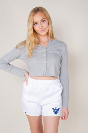 Load image into Gallery viewer, MTO Georgia State Cut Off Sweatshorts