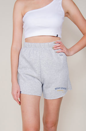 Load image into Gallery viewer, MTO Kent State Cut Off Sweatshorts