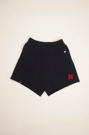 Load image into Gallery viewer, MTO Rutgers Cut Off Sweatshorts