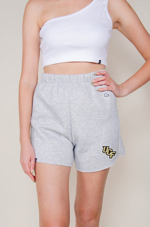 Load image into Gallery viewer, MTO UCF Cut Off Sweatshorts