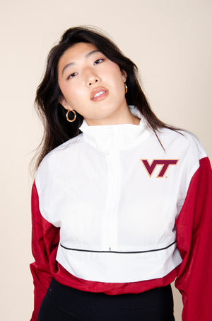 Virginia Tech Vintage Track Jacket - Hype and Vice