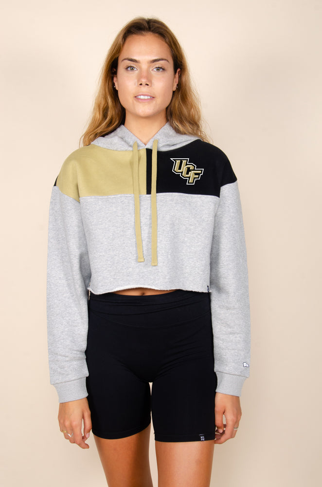 Load image into Gallery viewer, UCF Color-Block Hoodie - Hype and Vice