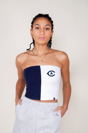 MTO UC Davis Color Block Tube Top