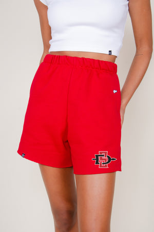 Load image into Gallery viewer, MTO SDSU Cut Off Sweatshorts