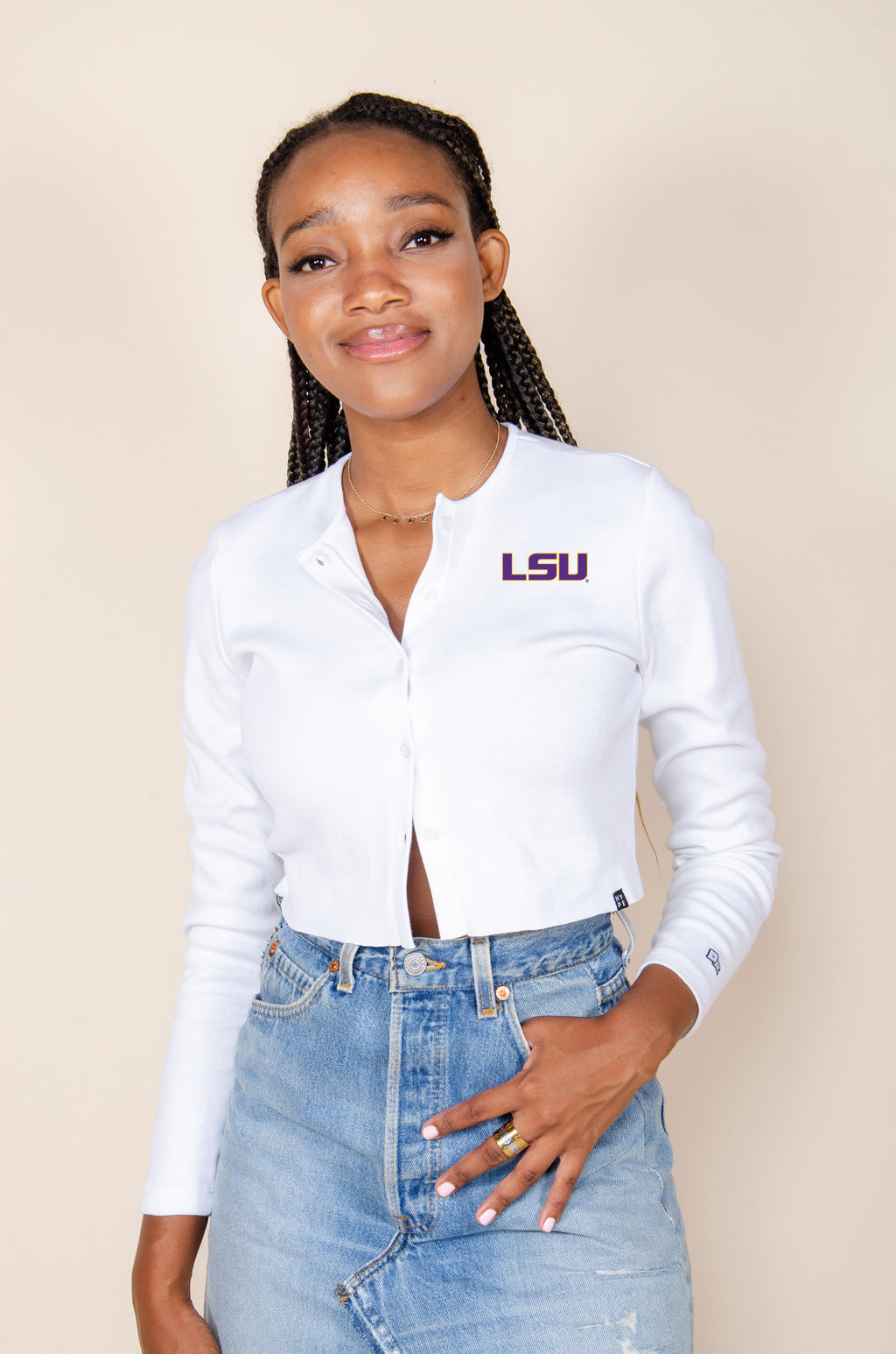 MTO Babydoll Knit LSU - Hype and Vice