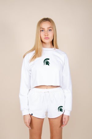 Load image into Gallery viewer, michigan state cute tops