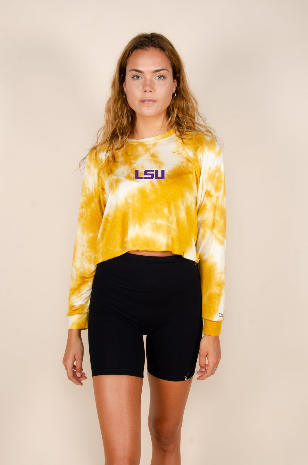 MTO LSU Tie Dye Dreams Top