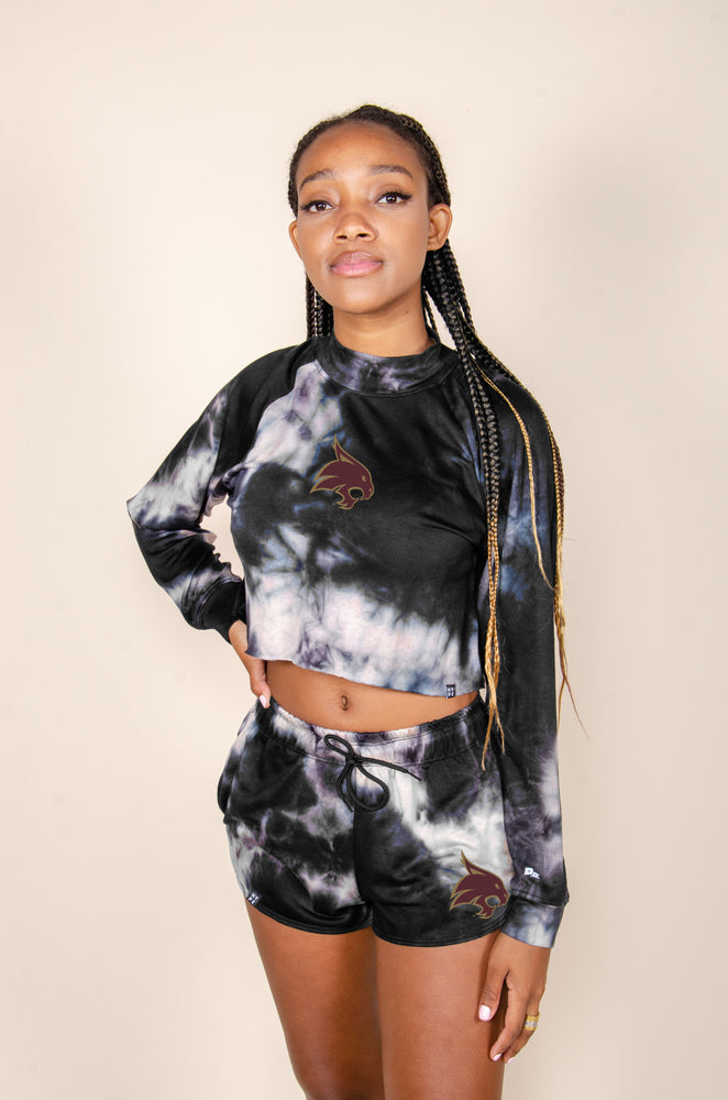 MTO Texas State Tie Dye Dreams Top