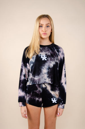 Load image into Gallery viewer, MTO University of Kentucky Tie Dye Dreams Top