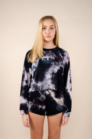 Load image into Gallery viewer, MTO Utah State Tie Dye Dreams Top