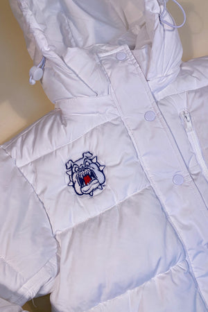 Load image into Gallery viewer, Fresno State Puffer Jacket