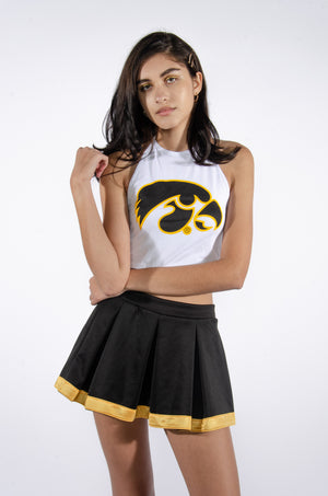 Hawkeyes Halter Top - Hype and Vice