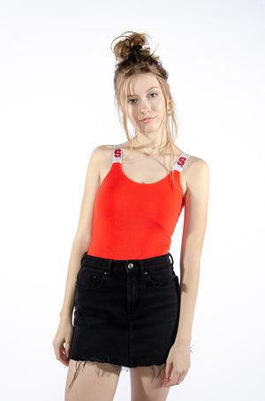 Syracuse Bodysuit with Embroidered Strap