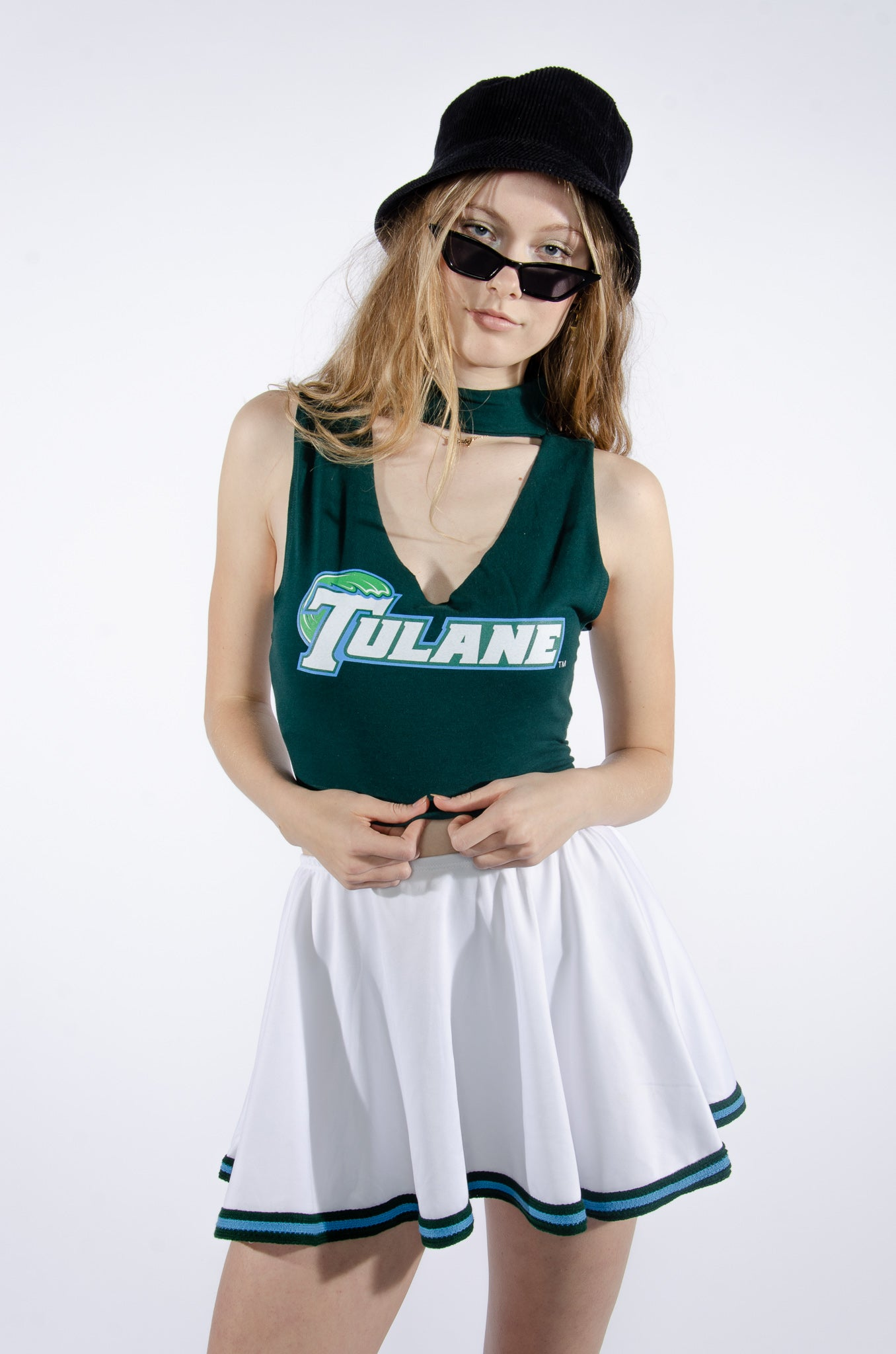 Tulane Cutout Top - Hype and Vice