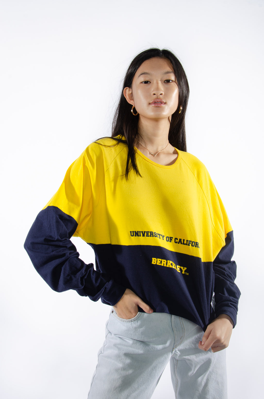 Cal Berkeley Color-Block Comfy Tee - Hype and Vice