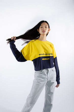 Cal Berkeley Color-Block Comfy Tee