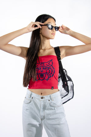 Load image into Gallery viewer, U of A Wildcats Tube Top - Hype and Vice