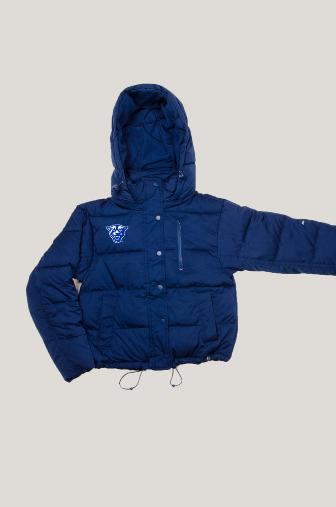 Load image into Gallery viewer, Georgia State Puffer Jacket
