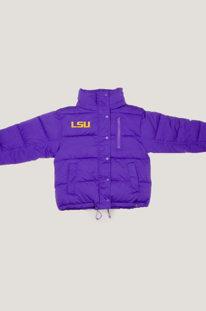 Load image into Gallery viewer, LSU Puffer Jacket