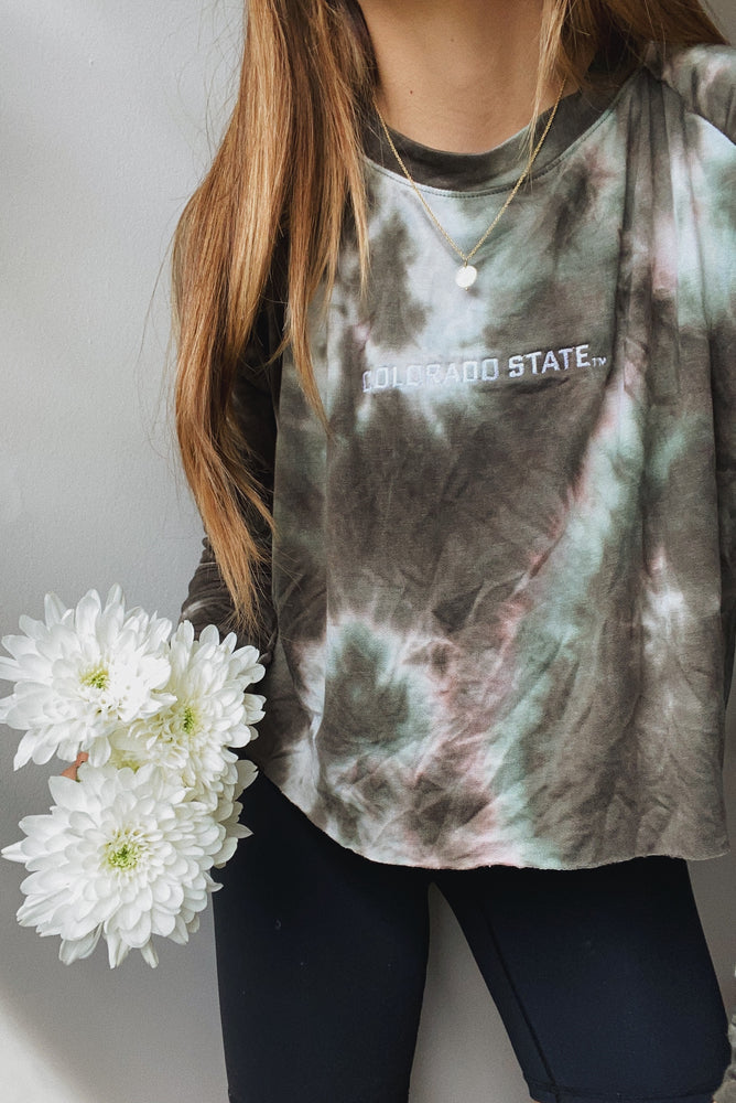 Load image into Gallery viewer, Tie Dye Dreams Top - CSU - Hype and Vice