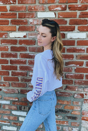 SJSU Cropped Long Sleeve - Hype and Vice