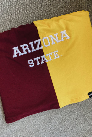 ASU - Color Block Tube Top - Hype and Vice