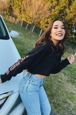 SDSU Cropped Long Sleeve - Hype and Vice