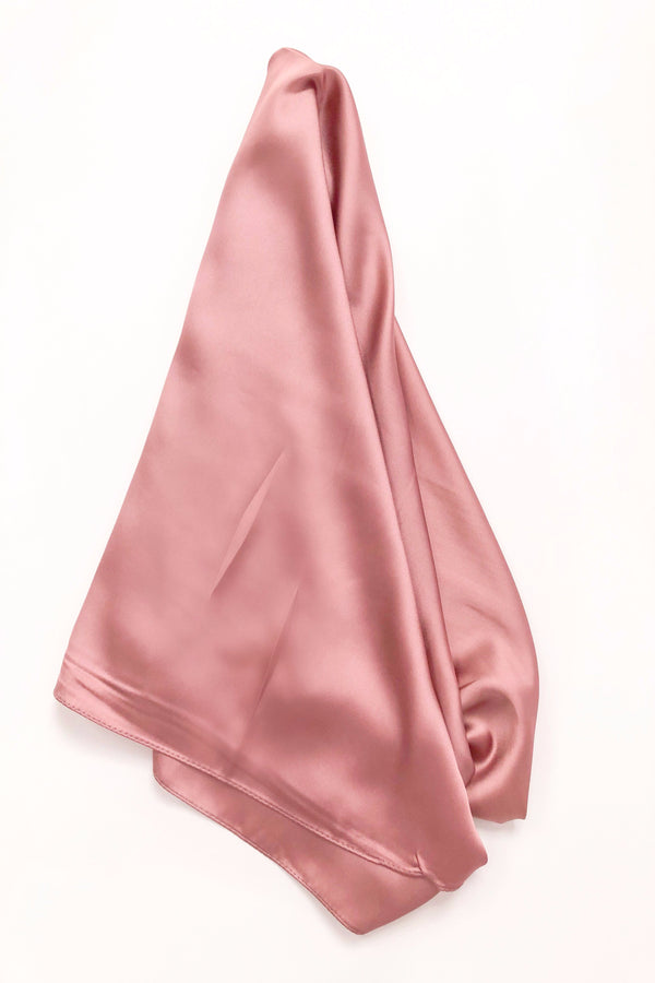 Square Scarf Top • Mauve Pink