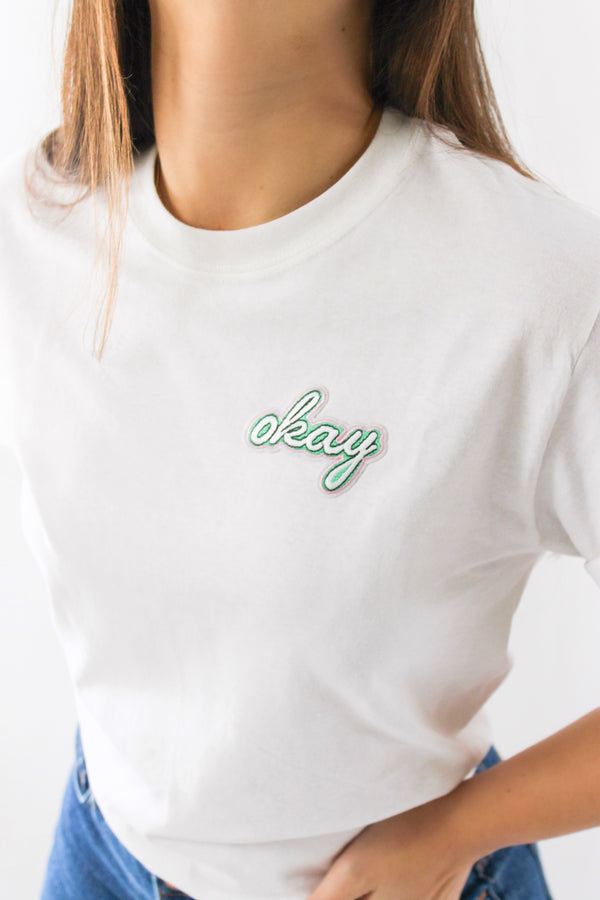 Okay T-Shirt • White