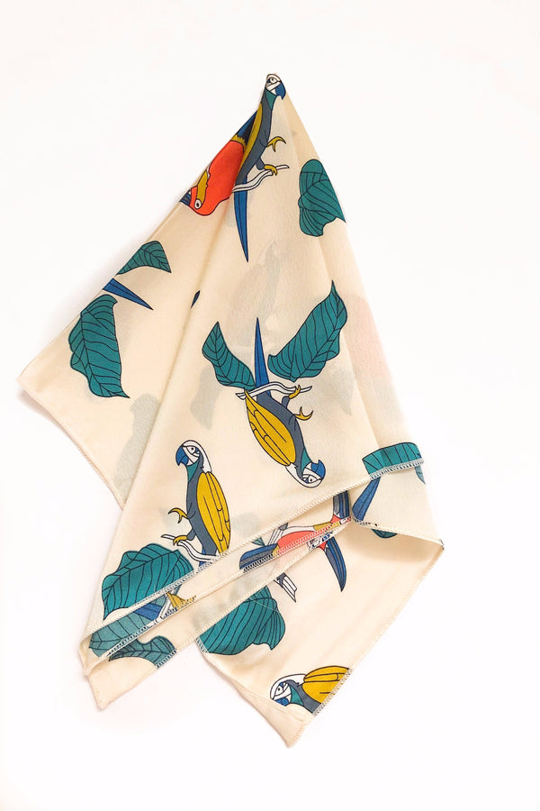 Square Scarf • Toucan