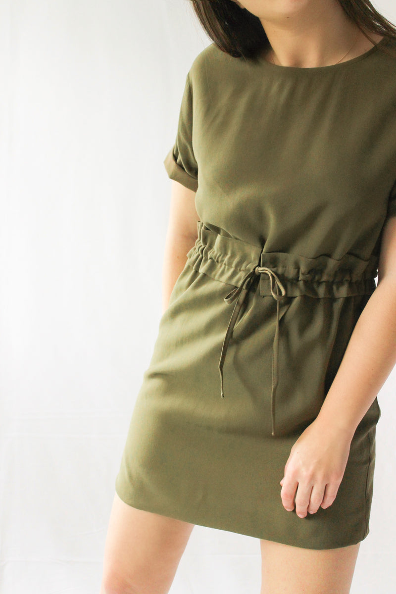 New Haven Dress • Olive