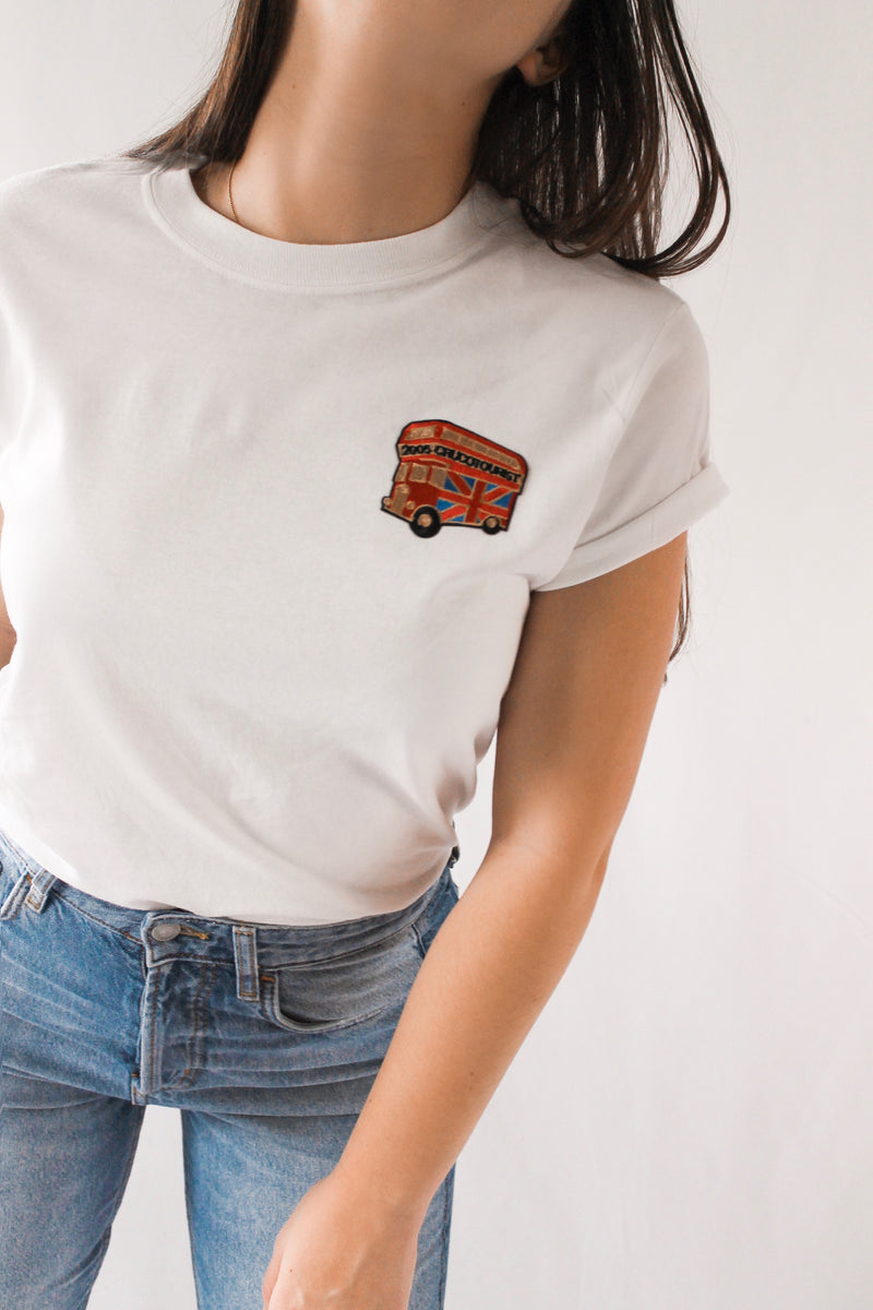 London Bus T-Shirt • White