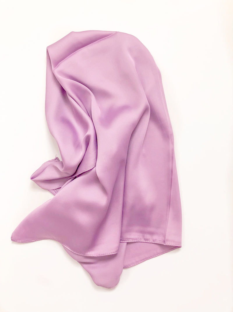 Square Scarf Top • Lilac
