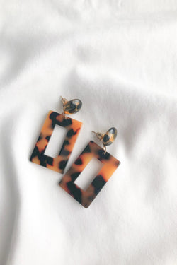 Square Tortoise Hoops