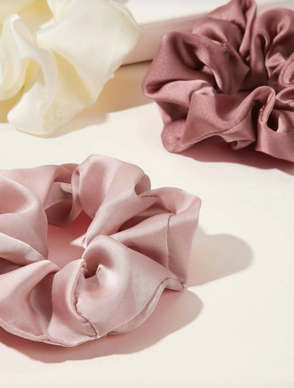 Satin Scrunchie Bundle