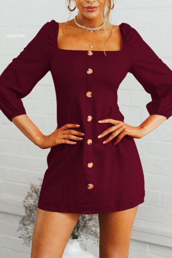 Petersburg Dress • Raspberry