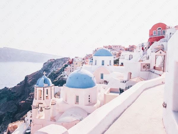 Santorini, Greece •  Print
