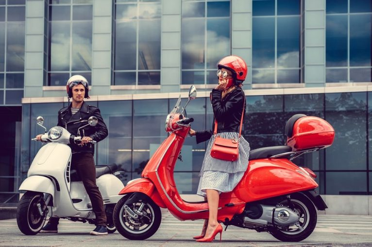 women scooter helmet